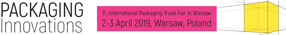 Packaging Innovations Trade Fair in Warsaw on 4-5 of April 2017.