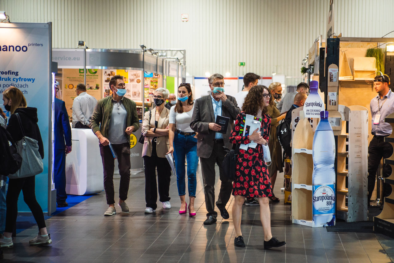 Visitors during Packaging Innovations 2020